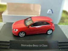 1/87 Herpa MB A-classe rosso giove