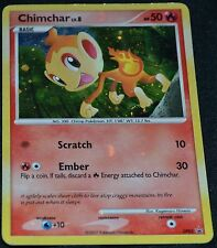 Holo Foil Chimchar # DP02 Diamond & Pearl Promo Set Pokemon Trading Cards SP