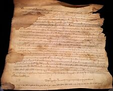 MEDIEVAL DOCUMENT 1352