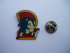SONIC THE HEDGEHOG 2 MEGA RARE VARIANTE PROMO in metallo smaltato PIN BADGE PIN locale