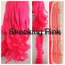 HAIR EXTENSIONS. Clip In, FULL HEAD, Curly, 5 clip, Synthetic, like REAL HAIR