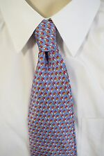 "BVLGARI Blue Ice Cream Cone Silk Tie 58"" NWOT!"
