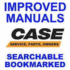 Case 580B 35 Loader Backhoe SERVICE SHOP & OPERATOR, PARTS MANUAL -8- MANUALS CD