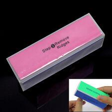 Fashion Nail Art Manicure 4 Way Shiner Buffer Buffing Block Sanding File