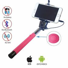 Asta Bastone Supporto Selfie Telescopico DynaSun Z07P tasto scatto e cavo jack