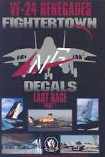 Fightertown Decals 1/48 GRUMMAN F-14 TOMCAT VF-24 Renegades LAST RAGE PART 1