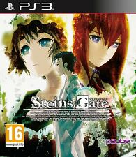Steins;Gate [PlayStation 3 PS3, Region Free, Anime Thriller Mystery Novel] NEW