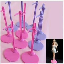 Lot 20 Pieces Contemporary Barbie Doll Body Stand Fixed Stents Holder Free Ship