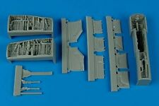 Aires 1/48 F/A-18A hornet roue bay for hobby boss kit # 4372