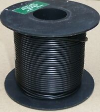 Large Cable Reel 9/0.3mm (0.65mm²) 5 Amp Black 50M