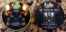 KORN The Paradigm Shift Ltd Ed Discontinued RARE Sticker +FREE Metal Stickers!
