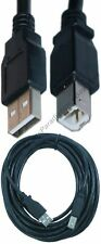 12ft USB2.0 A~B AB Printer Cable/Cord/Wire for PC/MAC/HP/Canon/Epson/Dell{BLACK