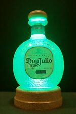Don Julio Tequila Bottle Lamp Color Change Remote control Man Cave B Day Gift