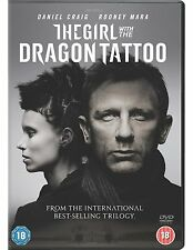GIRL WITH THE DRAGON TATTOO DVD -  Starring DANIEL CRAIG, ROONEY MARA