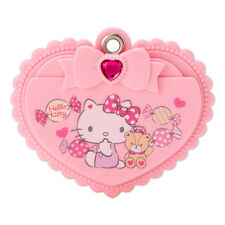 Hello Kitty Slide Mirror & Comb Pink Heart ❤ SANRIO Japan