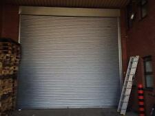 GALVANISED SECURITY ELECTRIC ROLLER SHUTTER / GARAGE DOORS  ALL SIZES AVAILABLE.