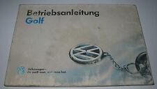 Betriebsanleitung Handbuch VW Golf III Typ 1H GL CL GT GTi VR6 GTD Juli 1992