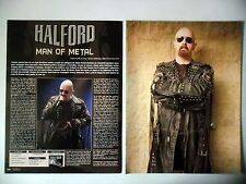 COUPURE DE PRESSE-CLIPPING : ROB HALFORD [4pages] 12/2010 Man Of Metal,Interview