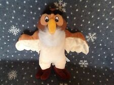 """DISNEY WINNIE THE POOH LARGE OWL SOFT PLUSH TOY 13"""" TALL EXCELLENT CONDITION"""