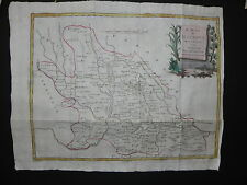 Ducato Mantova Antonio Zatta carta geografica originale 1796 map Pitteri