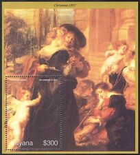 Guyana 1997 Christmas/Greetings/Rubens/Artists/Art/Paintings 1v m/s (n41546)