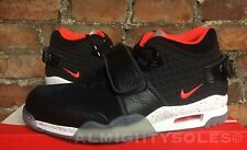 Nike Air Trainer Victor Cruz QS UK9 EUR44 Black Crimson White 821955 001 NFL