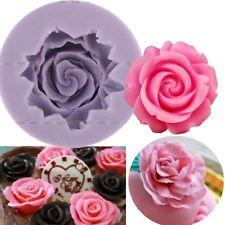 Silicone Rose Flower Fondant Cake Mold Chocolate Decor Tools Sugarcraft Mould BR