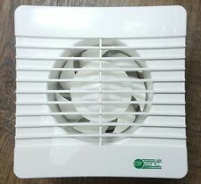 "Standard Extractor Fan 4"" for WC Toilet Bathroom Airvent 100mm Low Profile Slim"