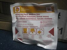 Medline Single Instant Hot Pack, Medium Size (6 in x 6 in) LOT OF FOUR (4)!!