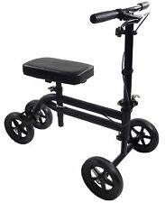 Economy Knee Scooter Steerable Knee Walker Medical Leg Scooter Crutch