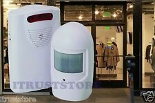 Wireless Motion Activated RETAIL STORE ENTRANCE ENTRY ALARM Door Chime Sensor