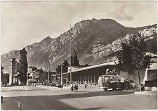 TRENTO - LA STAZIONE FERROVIARIA COL MONTE BONDONE - CORRIERA 1955