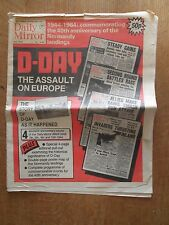 1944-1984 DAILY MIRROR PAPER  THE 40th. ANNIVERSARY OF THE NORMANDY LANDINGS.