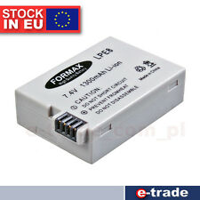 LI-ion Battery LP-E8 FOR Canon EOS 550D 600D 650D 700D Rebel T2i T3i T4i