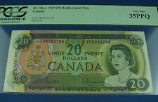 1969 $20 Canada Beattie Rasminsky replacement note BC-50aA *EM PCGS 35PPQ