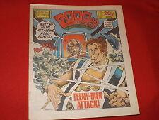 """2000AD COMIC PROG 314 30TH APRIL 1983 ( """"SKIZZ"""" ALAN MOORE SRIPT) GOOD COPY"""
