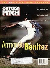 MAY 22, 1998 BALTIMORE ORIOLES OUTSIDE PITCH - BASEBALL - BENITEZ ON COVER