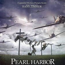PEARL HARBOR EXPANDED Hans Zimmer 2 CD-SET +90 MIN. MUSIC MINT