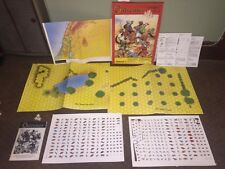 Vintage 1985 RPG Outremer By Standard Games, Complete. Cry Havoc Compatible.