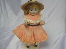 "ANTIQUE ALL BISQUE GERMAN DOLL ABG MOLD 83 7.5"" ADORABLE"