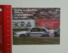 Aufkleber/Sticker: Original BMW Teile - BMW M Power (22031651)