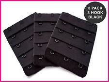 BH Verlängerung - 3 Haken (55mm) - 3 x Schwarz