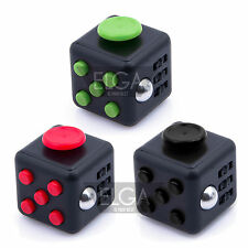 1 Set=3 Color New Fidget Anxiety Attention Stress Relief Cube Toy For Adults USA