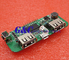 DIY Dual USB 5V 1A 2.1A Mobile Power Bank 18650 Battery Charger PCB FOR PHONE
