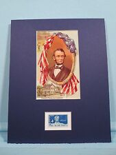 President Abraham Lincoln of Springfield, Illinois honored by his own stamp