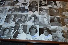 HIGH DOLLAR MINOR LEAGUE BASEBALL AUTOGRAPH 8x10 PHOTO COLLECTION! PRE RC YEARS!