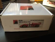 Feeling43 1:43 Ferrari 512 S kits No BBR MR Tameo AMR