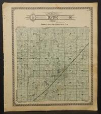 Illinois, Montgomery County Map, 1912, Irving, L1#76