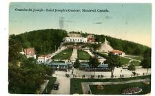 Montreal Quebec QC -TROLLEY AT SAINT JOSEPH'S ORATORY-Postcard Canada