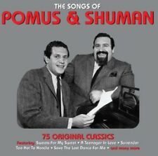 Doc Pomus, Pomus & Shuman - Songs of [New CD] UK - Import